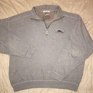 Tommy Bahama Men's Relax 1/2 zip sweatshirt Sz Lg